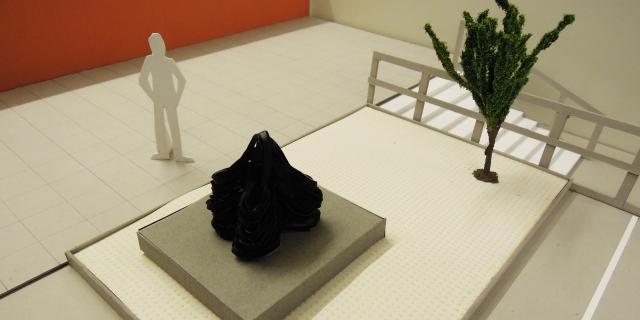 Gestatlningsförslag NKS Ariadne och Labyrinten konstnär Katrine Helmersson - 1024
